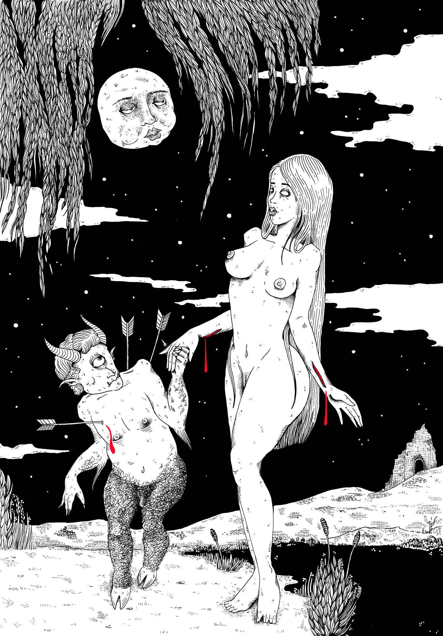 La-Satanee_Danse-sous-la-lune