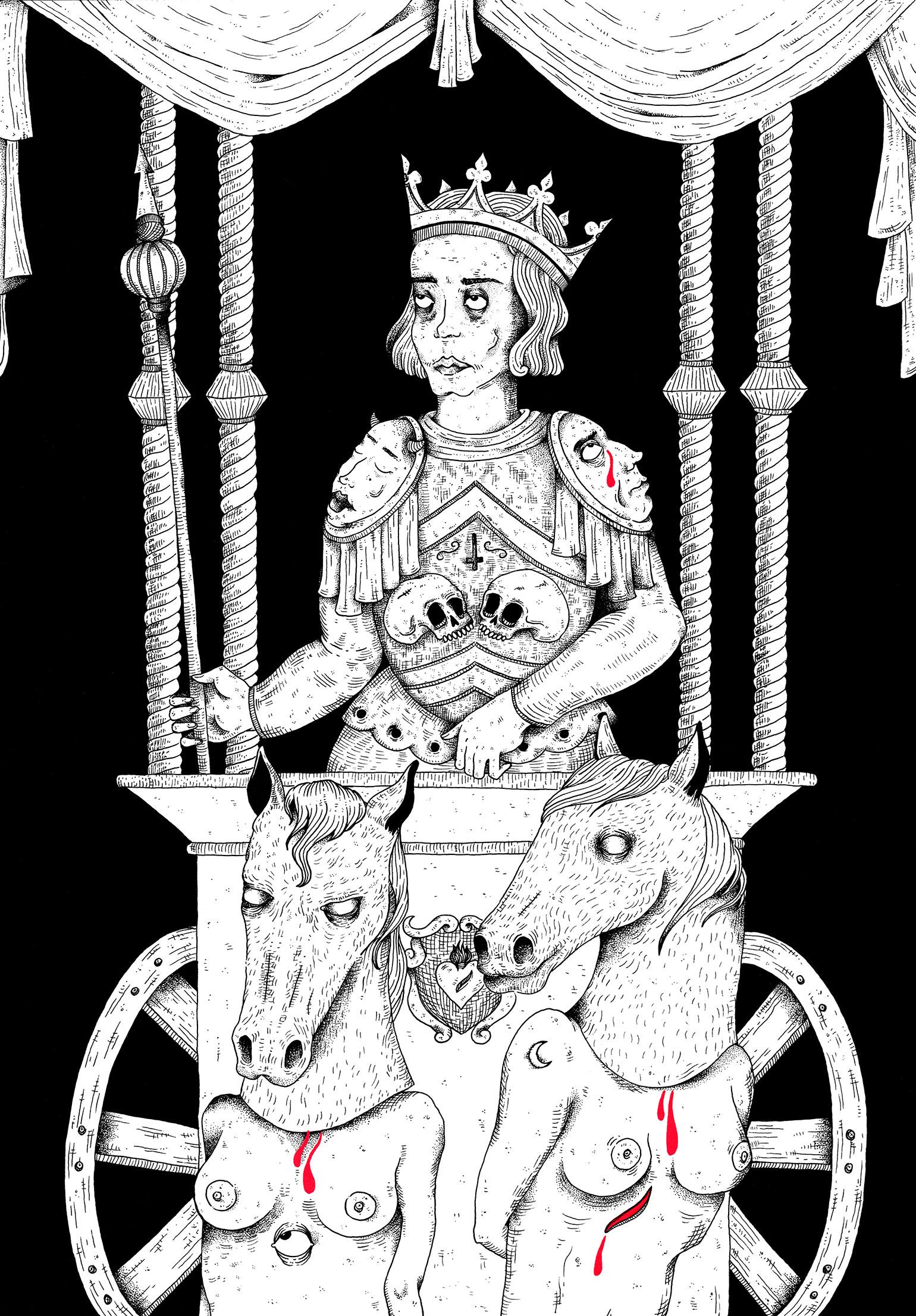La-Satanee_VII-Le-Chariot