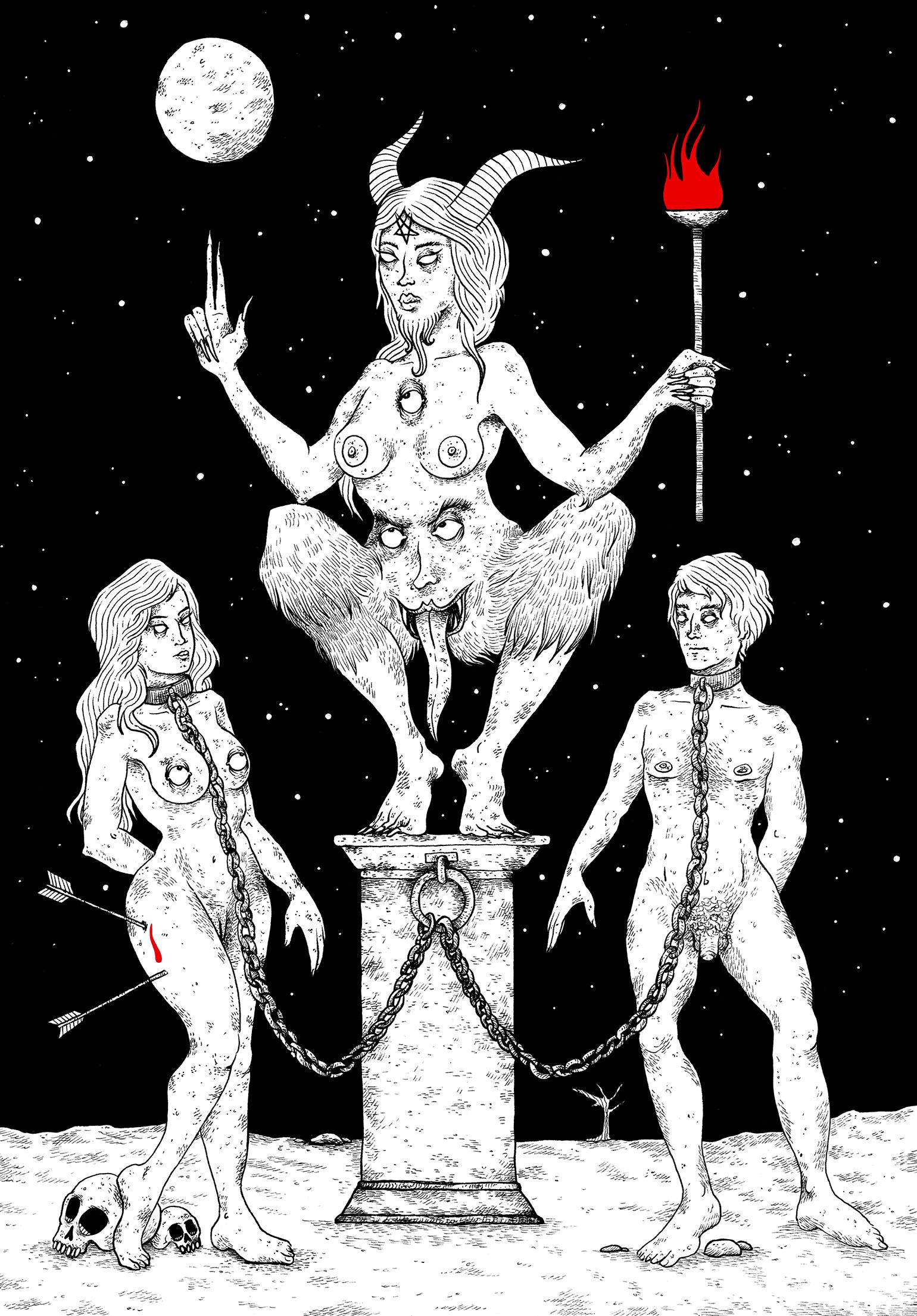 La-Satanee_XV_Le-diable