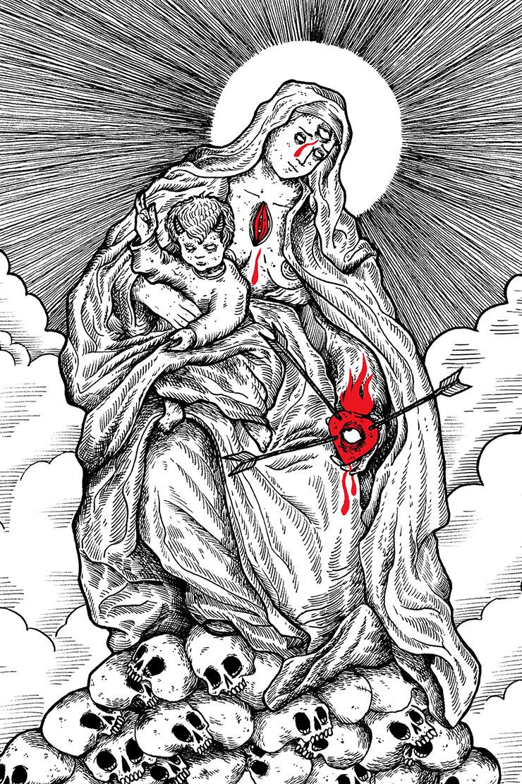 La Sainte Vierge