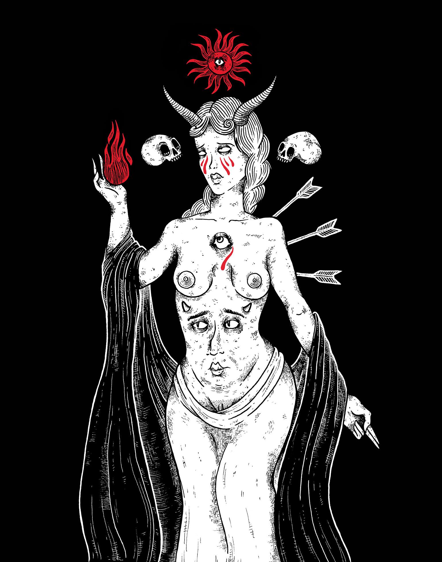 La-Satanee_Vierge-Marie-pleurant